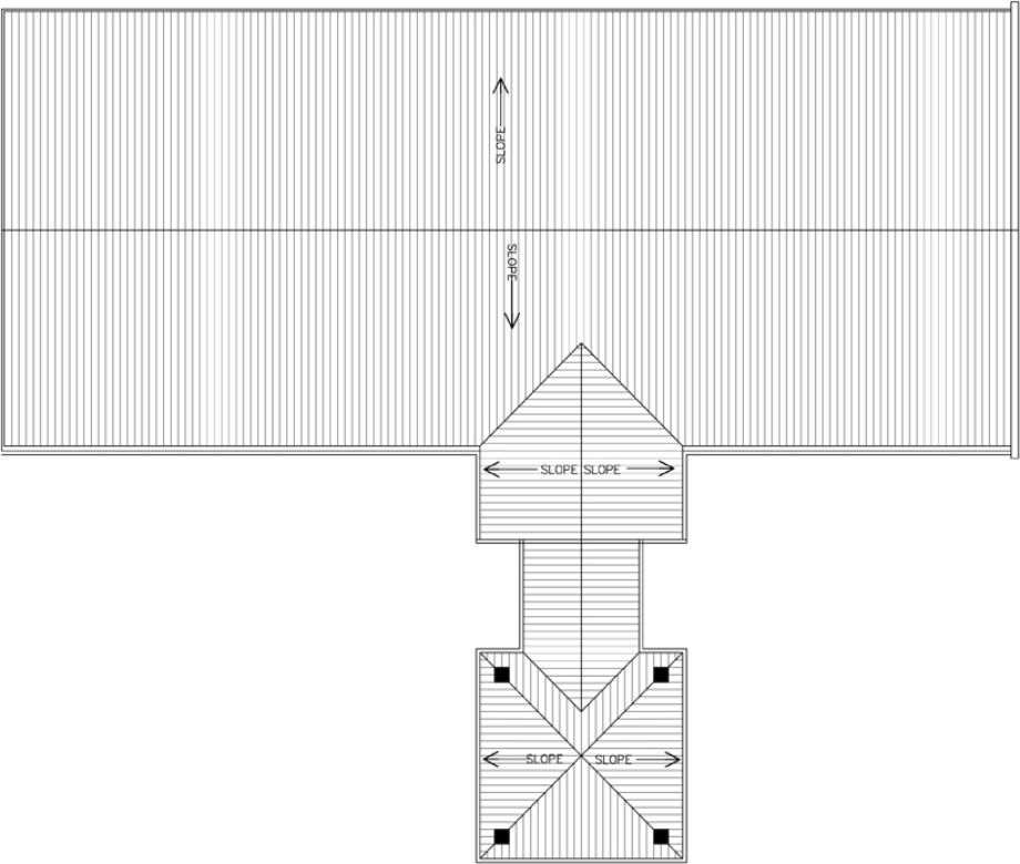 Grace Church Perry Roof Plan