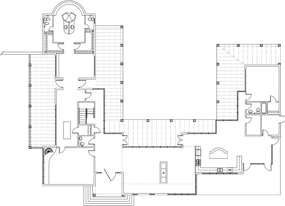 Moore House Perry 1st Floor Plan