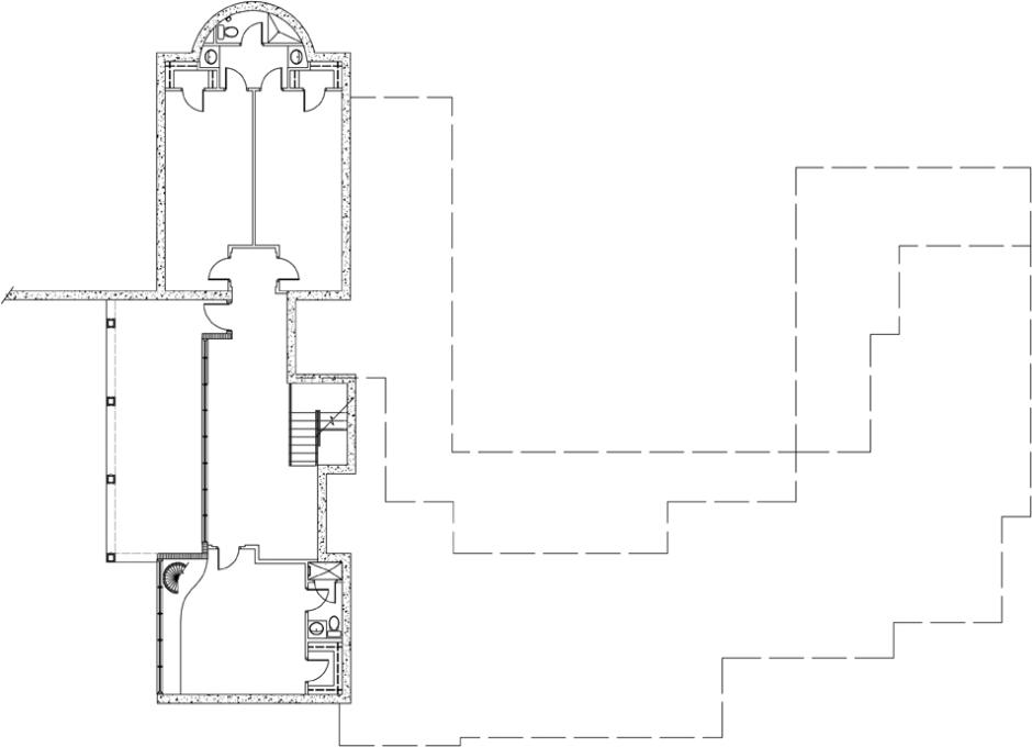Moore House Perry Basement Plan