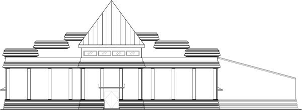 KPS Temple Macon West Elevation 2